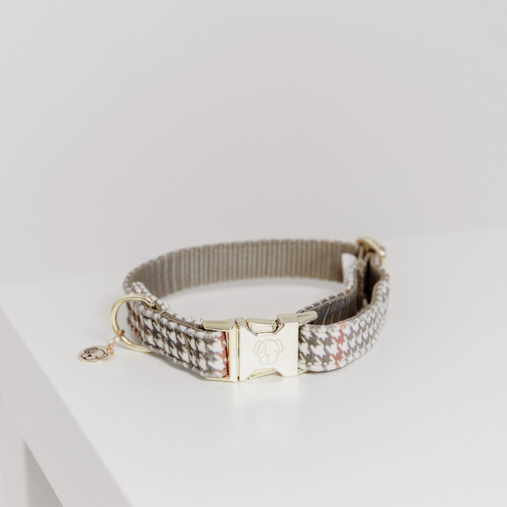 Kentucky Dogwear Pied-de-Poule Hundehalsband